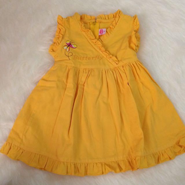 Dress Kuning Nikita