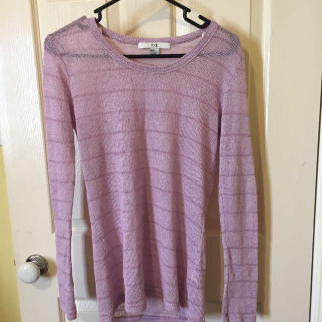 F21 Light Sweater