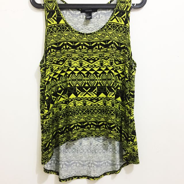 Forever21 Aztec Top