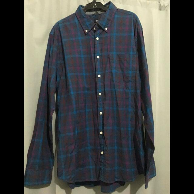 *REPRICED * Gap Plaid Long Sleeves