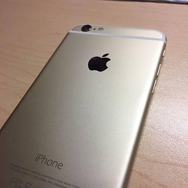 Gold Iphone6 64gb Unlocked