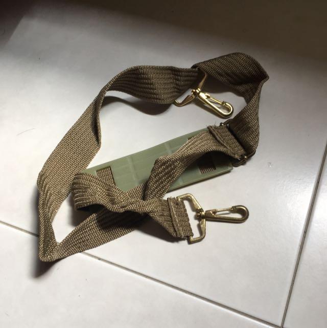 Green Messenge Sling Bag