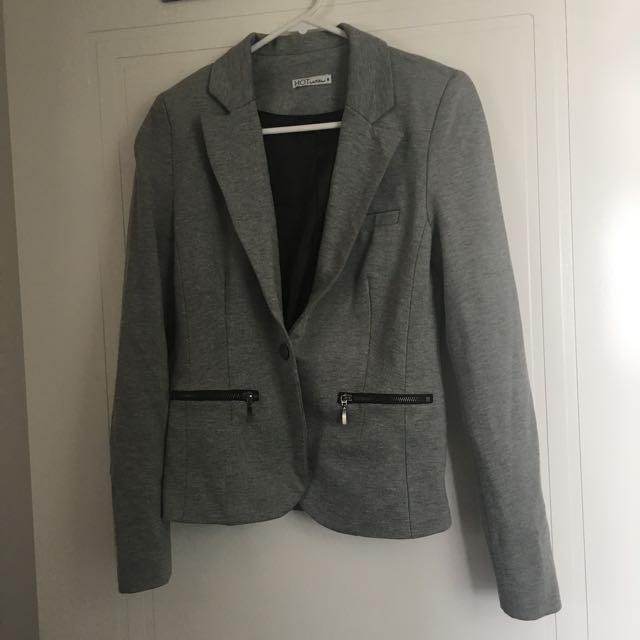 Grey Marl Blazer Size 8