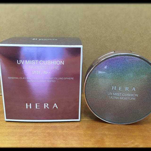 HERA-氣墊粉餅補充蕊/色號21