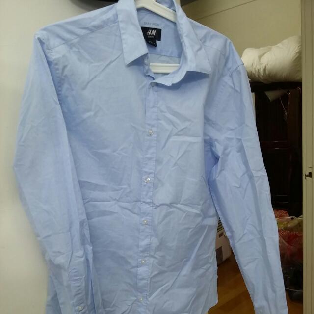 H&M 襯衫 Size M(穿過一次 下水過)(樹林大安路507號自取)