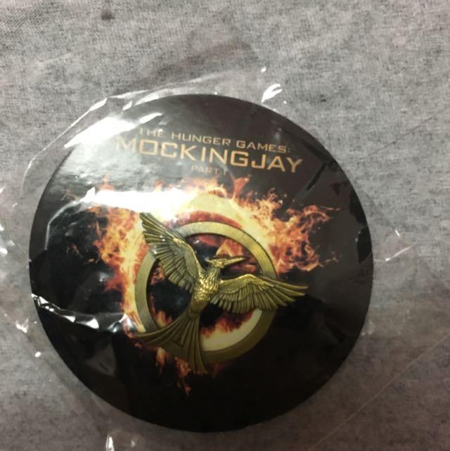 Hunger Games Mocking Bird Pin