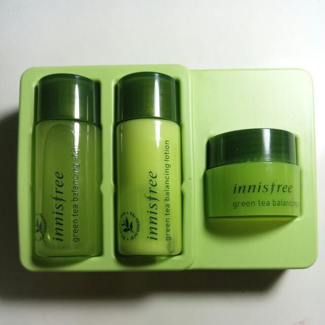 (預訂)Innisfree綠茶水平衡護膚組(含運)