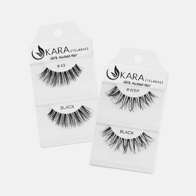 Instocks Kara Eyelashes Health Beauty Makeup On Carousell