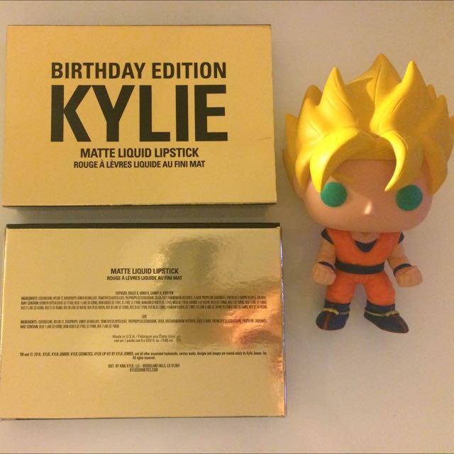 Kylie Birthday Edition Mini Mattes