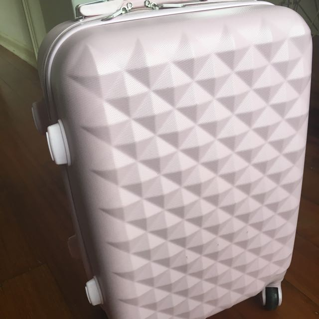 Light Pink Carry On Luggage
