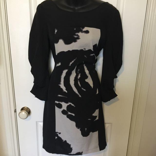 Long Sleeve Dress - Size 10