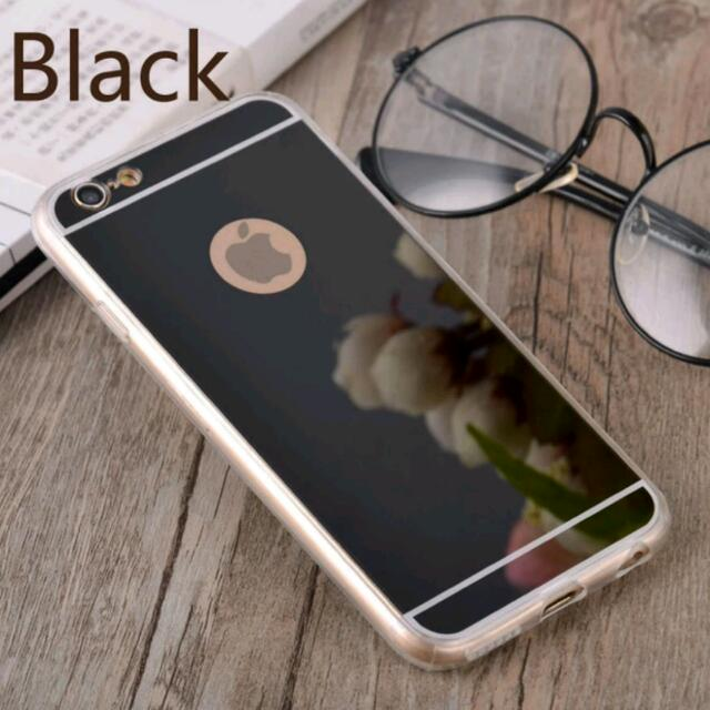 Luxury Mirror Soft Clear TPU Phone Case For iPhone 7/7 Plus  Cover Back silicone Frame