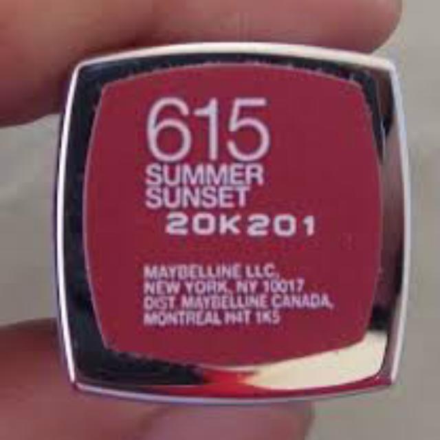 Maybelline Lipstick 615 Summer Sunset