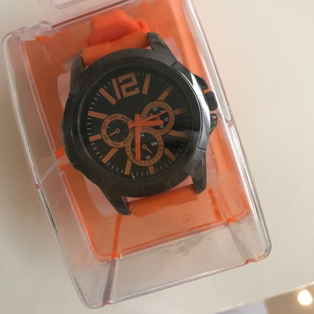 Miine休閒風石英錶