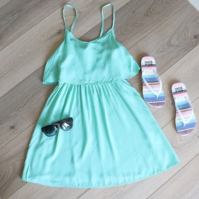 Mint Summer Dress
