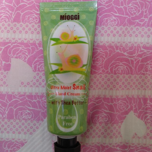韓版Mioggi 蝸牛精華 Hand Cream