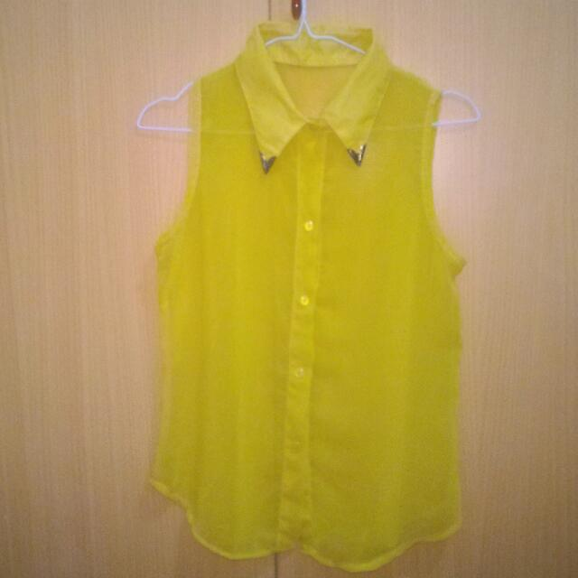 Mustard Shirt Made In Bangkok