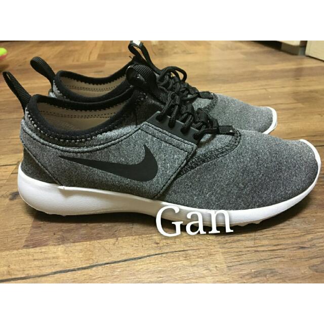 Nike Juvenate SE 葛瑞絲 Grace 慢跑鞋 灰黑全新23.5cm