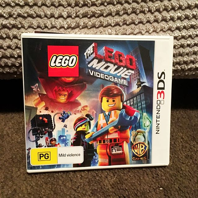 Price Reduce!! Nintendo 3DS The Lego Movie Game