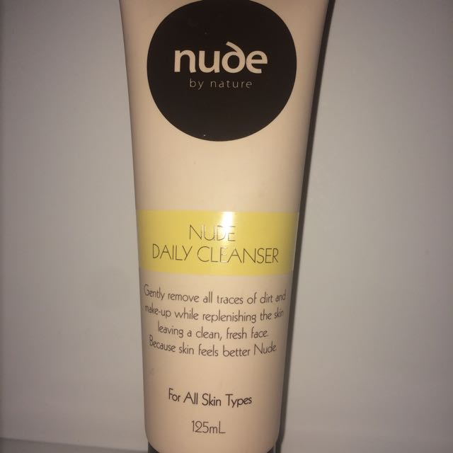 Nude skin cleanser
