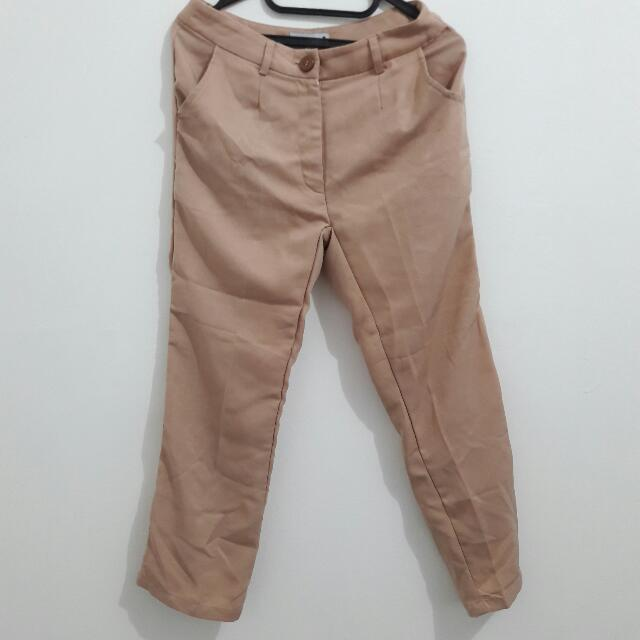 Peach Pants By Loushkii