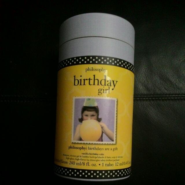 Philosophy Birthday Girl Gift Set Produk Badan Dan Kecantikan