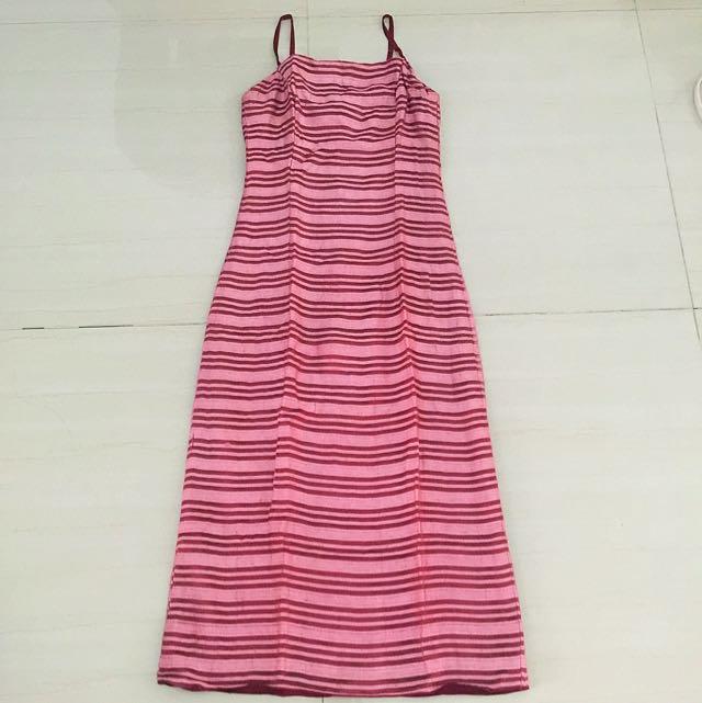 Pink Strip Dress