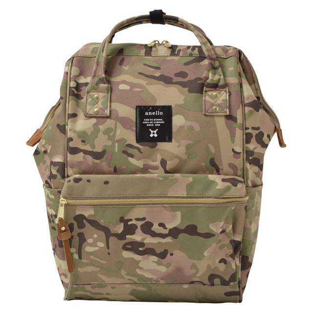 6acddaeb25f Preorder: Anello Polyester Large Backpack AT-B0193A Light Camo ...