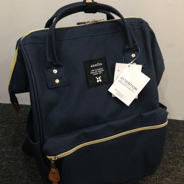 7b0fdf5ac98 Preorder: Anello Polyester Large Backpack AT-B0193A Navy, Bulletin ...