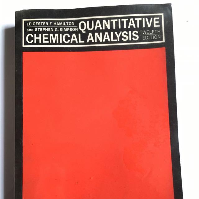 Qualitative Chemical Analysis