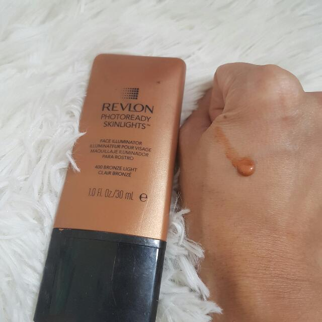 Revlon Photoready Skinlights Face Illuminator In 400 Bronze Light