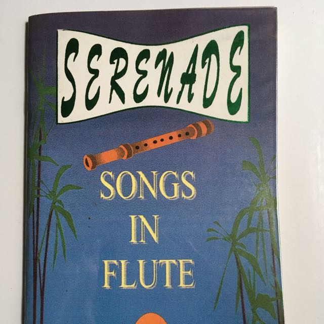 Serenade Bamboo Flute Song Book