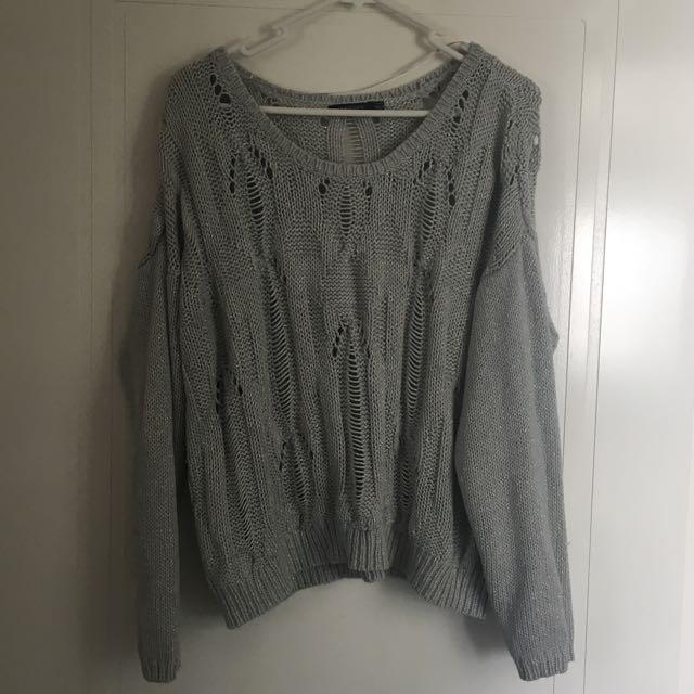 Silver Grey Portmans Knit M