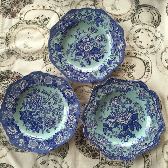 Spode Archive Collection (Turquoise/Blue)