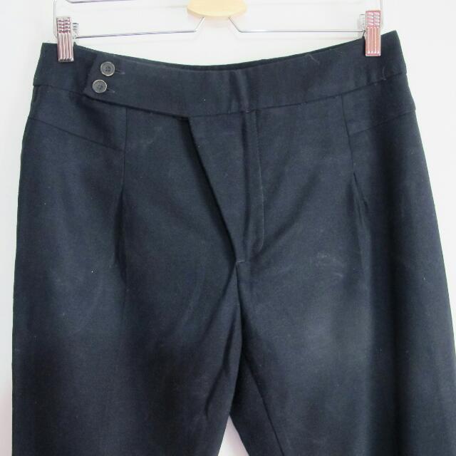 Sz M Zara Navy Trousers