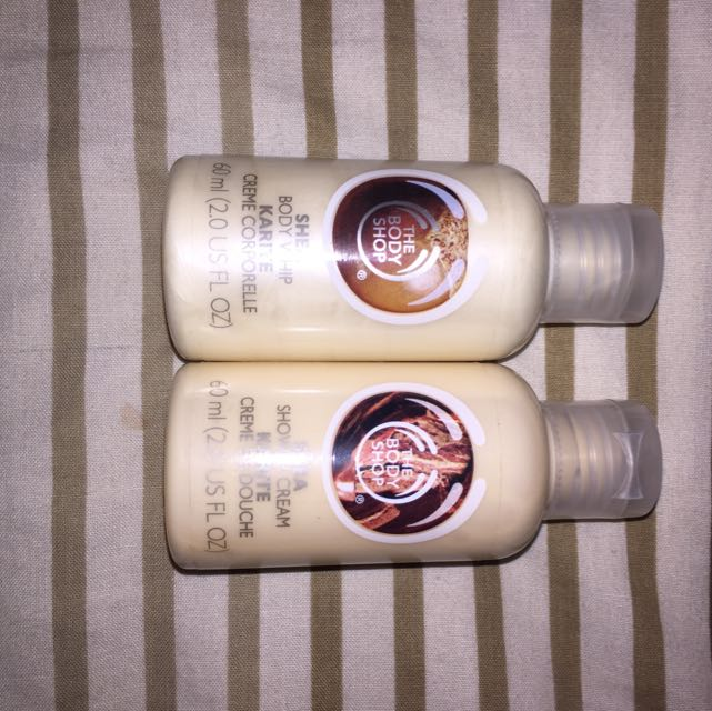 The Body Shop Shower And Body Creme