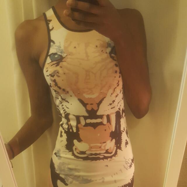 Tiger Bodycon Dress!
