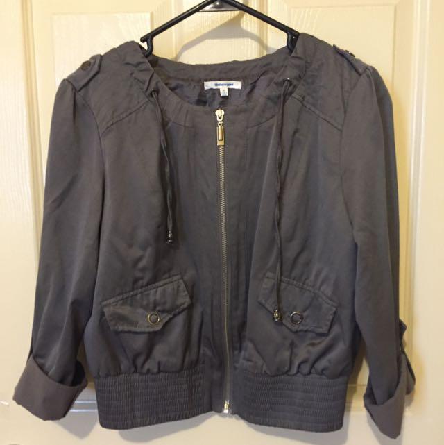 Valleygirl Gray Light Jacket