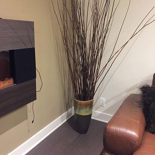 Vase With Sticks