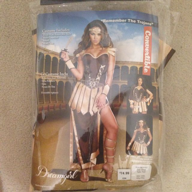 Warrior Princess Halloween Costume