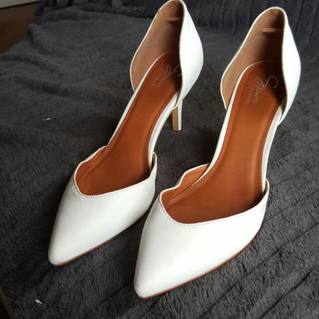 White Point Heels Size 10 Spurr Brand Worn Once