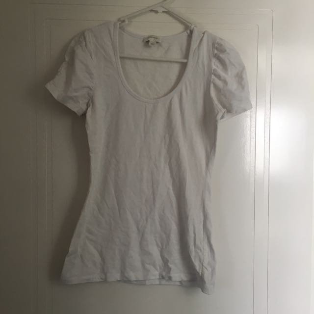 Witchery White Tee T-Shirt Size S
