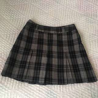 Warm Plaid Skirt
