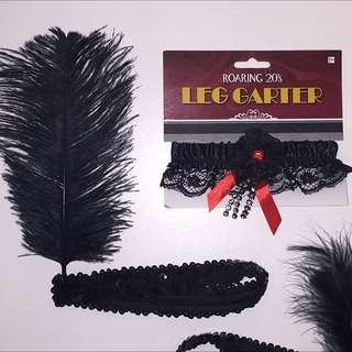Burlesque Headband & Garter