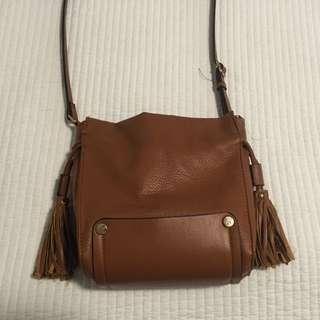 Brown Cross-over Bag