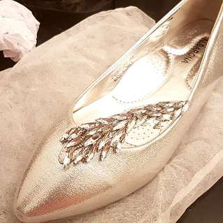 Wedding Flat Pumps