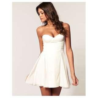 ASOS Strapless dress size 6