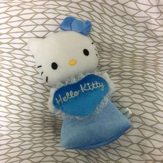 HELLO KITTY ANGEL PLUSH/ZIP UP POUCH