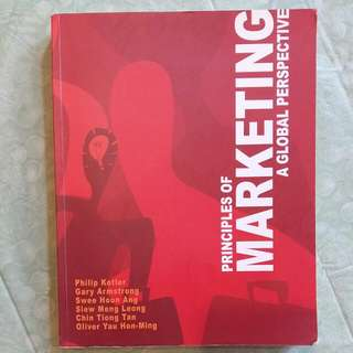 Principles of Marketing: A Global Perspective 1st Edition Edition