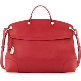 Furla Piper Dome Large Red